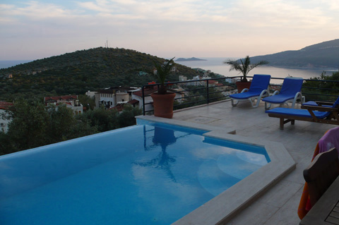 Infinity Pool and view - Holiday Rental Turkey