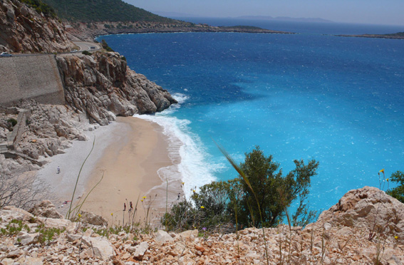 Kaputas Beach, near Kalkan villa rental