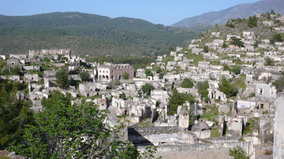 Kakakoy abandoned Greek village