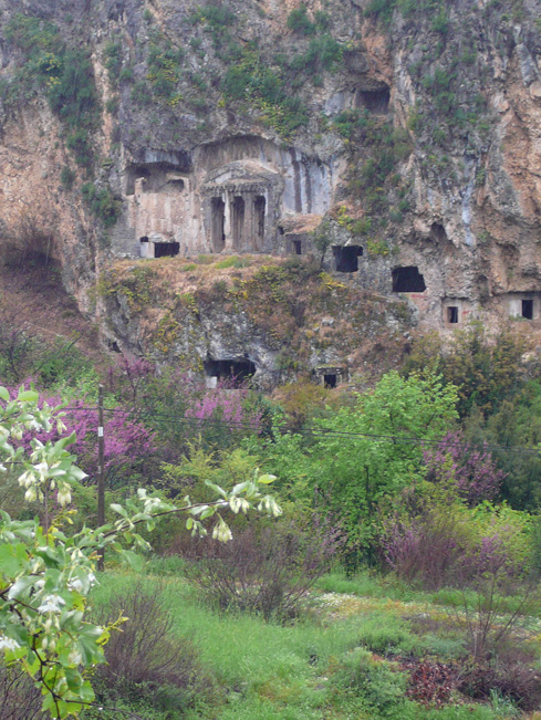 Tlos rock tombs